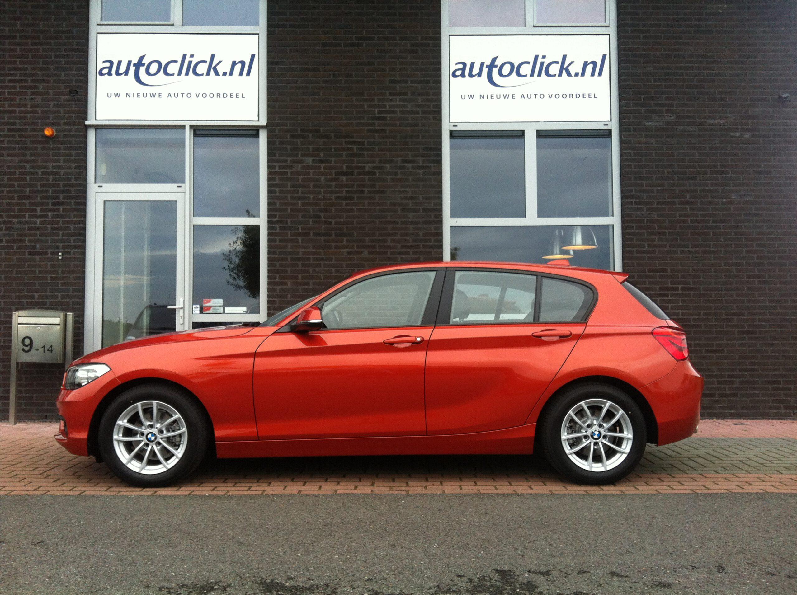 Uit Duitsland geïmporteerde BMW 1-serie ,een tevreden klant met onze import service
