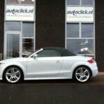 Uit Duitsland geïmporteerde Audi TT Roadster, een tevreden klant met onze import service
