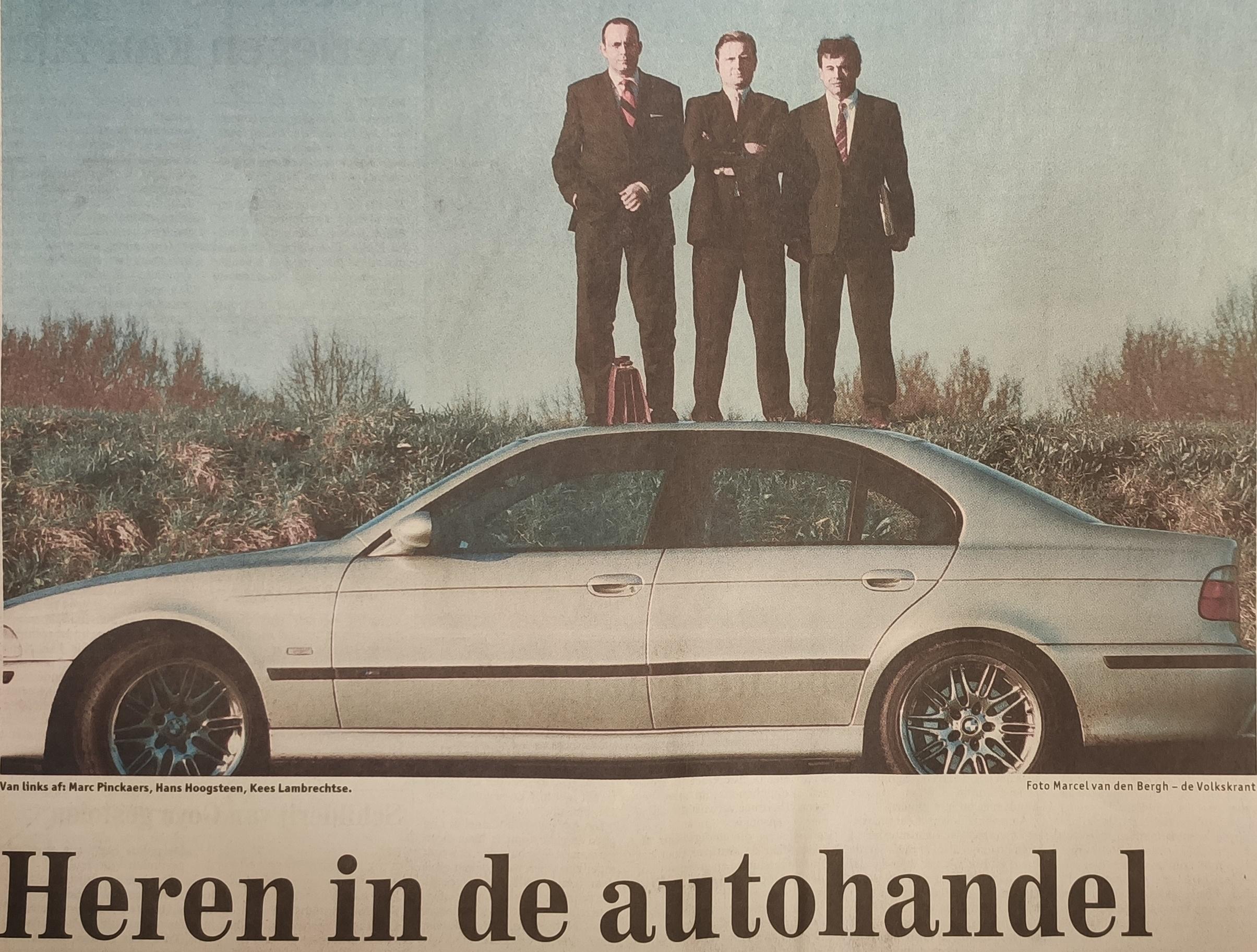 Ontstaansgeschiedenis Autoclick, heren in de autohandel